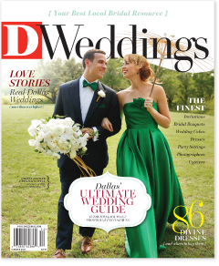 The cover of D Weddings Summer 2015 issue