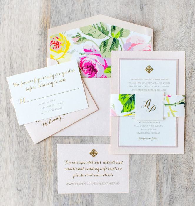 Paper Affair Dallas Stationery Calligraphy