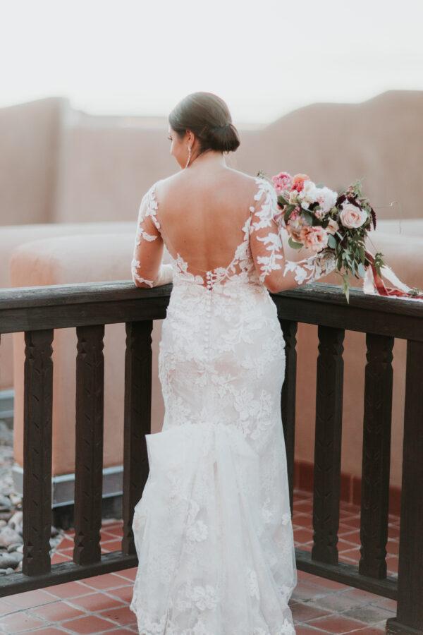 7a2936c4d1 How to Bustle A Wedding Dress