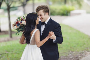 Saumya Tayi and Kyle Blackburn Real Wedding