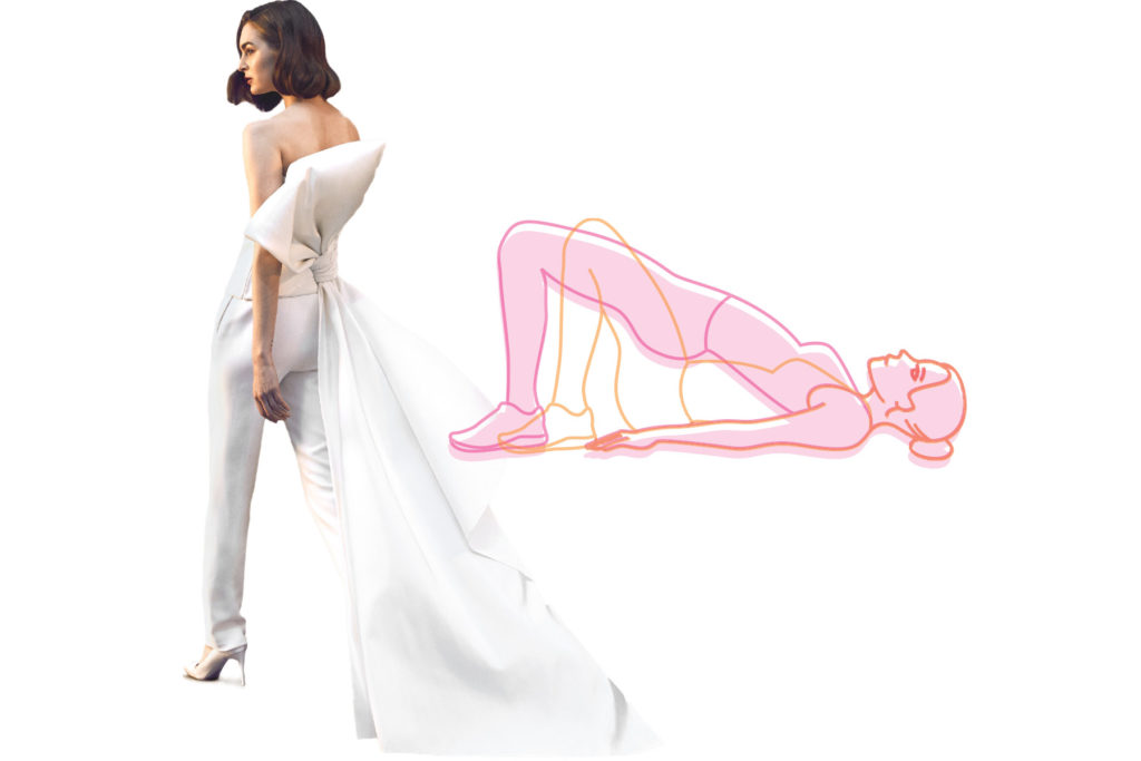 Wedding Day workout for butts